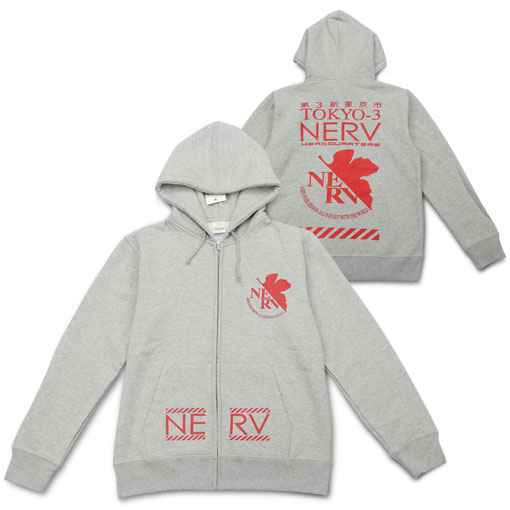 NERV卫衣-《EVA》NERV连帽卫衣