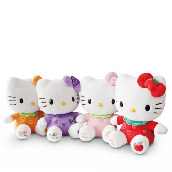 Hello Ketty毛绒公仔-《凯蒂猫》水果系列