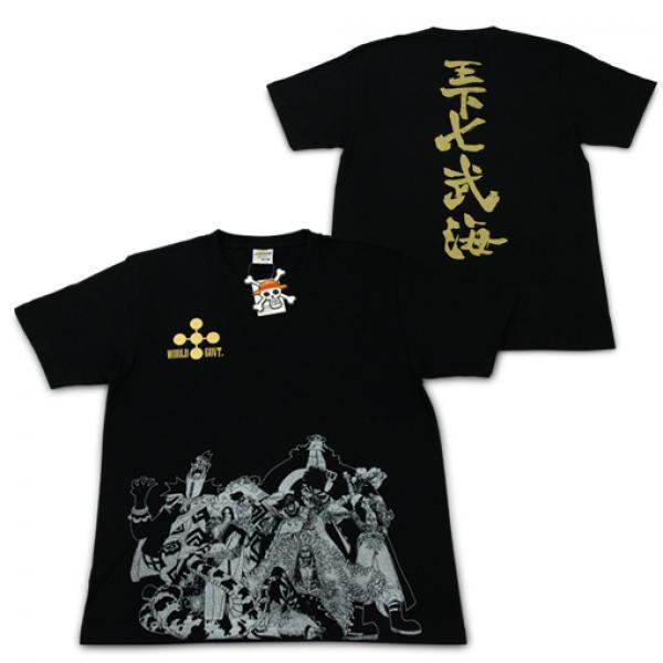 王下七武海T恤-《海贼王》Costar