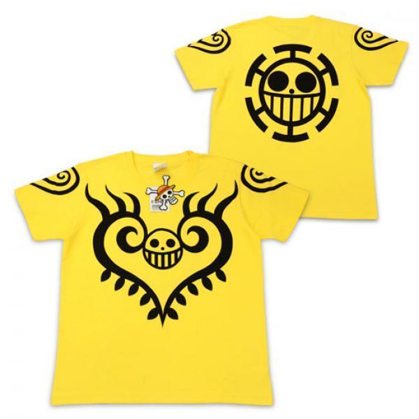 罗纹身T恤-《海贼王》Costar 特拉法加尔罗纹身