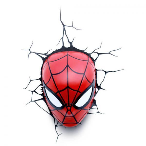 蜘蛛侠之头壁灯-《蜘蛛侠》漫威 造梦师