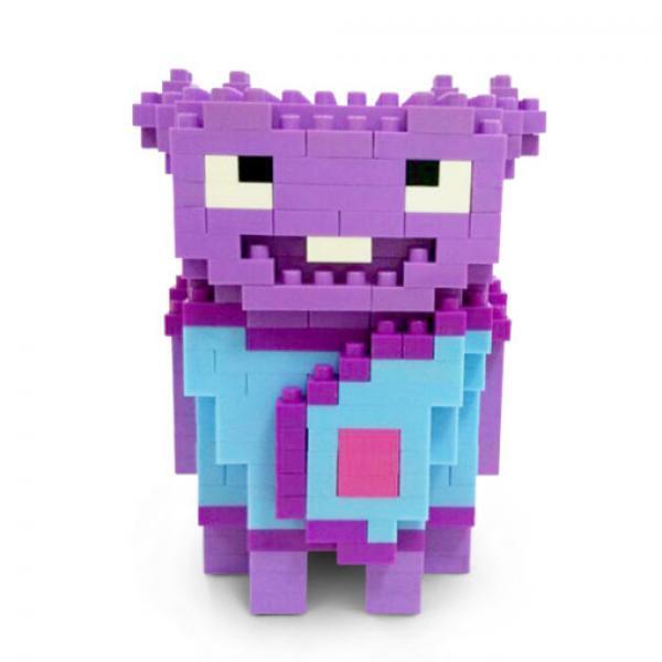 小欧拼装模型-《疯狂外星人》拼插玩具
