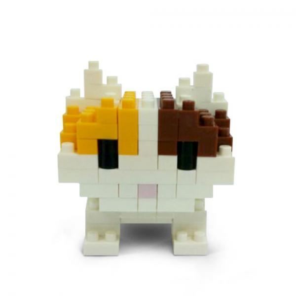 宠物猫拼装模型-《疯狂外星人》拼插玩具