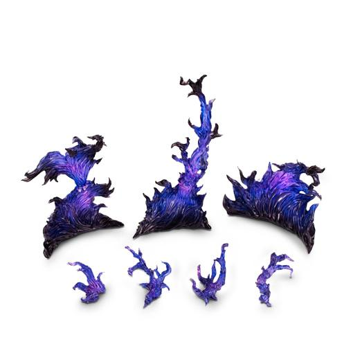 紫色火焰特效-万代 魂特效
