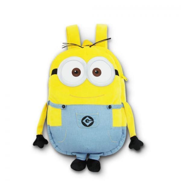 小黄人鲍勃背包-《小黄人大眼萌》 Bob 双肩毛绒背包