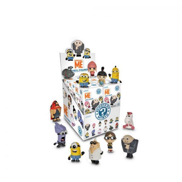 小黄人迷你公仔-《神偷奶爸》FUNKO POP系列 全套12款 单盒拍随机发