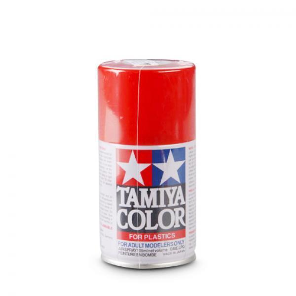 TS_49亮光鲜红色喷漆-田宫 85049 模型专用手喷漆 油性 100ml