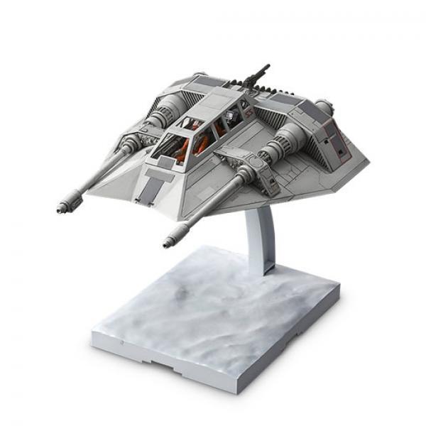 万代 雪地战机-《星球大战》 万代 拼装模型