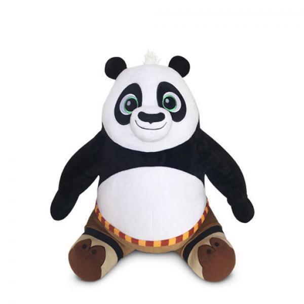 39cm坐姿阿宝毛绒-《功夫熊猫》   毛绒玩具
