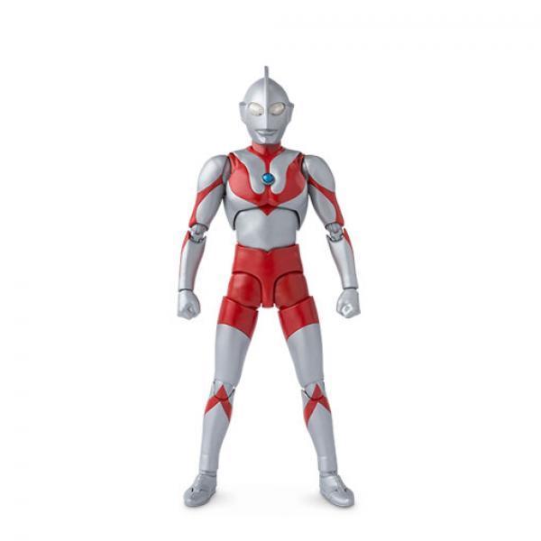 初代奥特曼普通版-《奥特曼》万代 SHF 咸蛋超人 可动模型