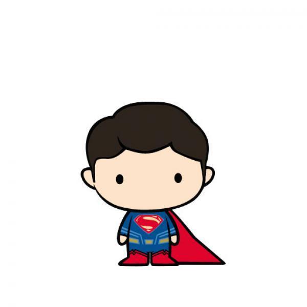 超人U盘-《蝙蝠侠大战超人:正义黎明》超人人形软胶U盘 8G