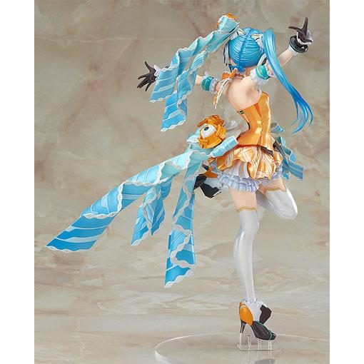 初音未来橙色MaxFactory手办-《初音未来》 MaxFactory Orange Blossom Ver. 精品手办