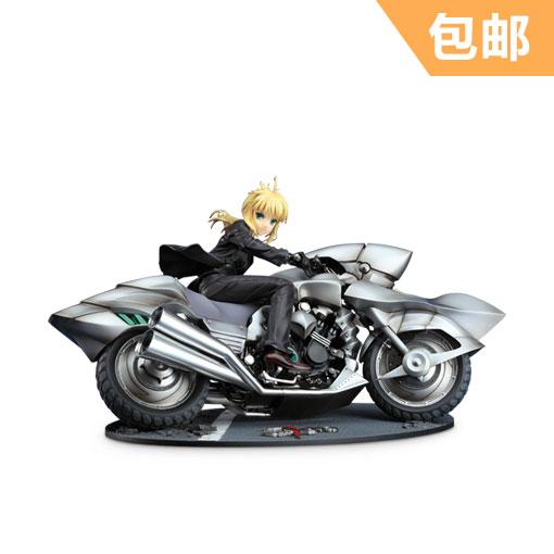 GSC Saber&摩托车 手办-《Fate ZERO》 良笑社 Saber&Saber Motored Cuirassier 正版手办 再版