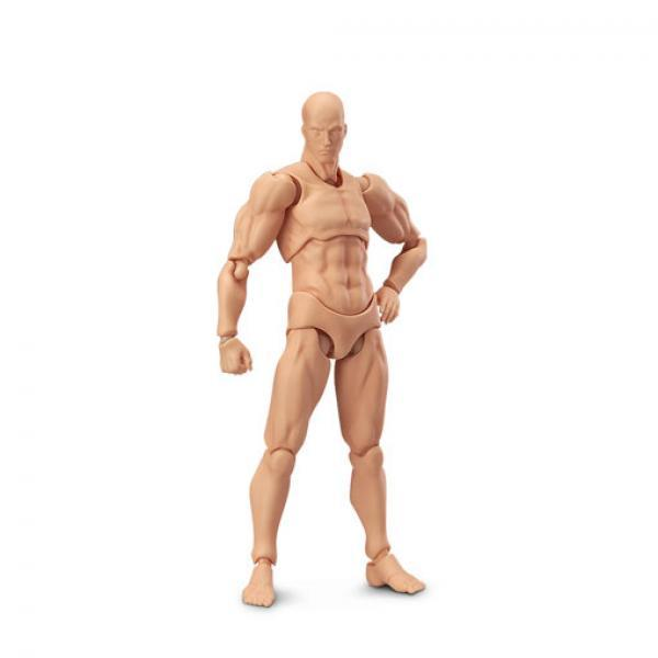 MF figma 02男 原色男性素体人原型-MaxFactory archetype nexthe flesh color ver. 正版可动人偶