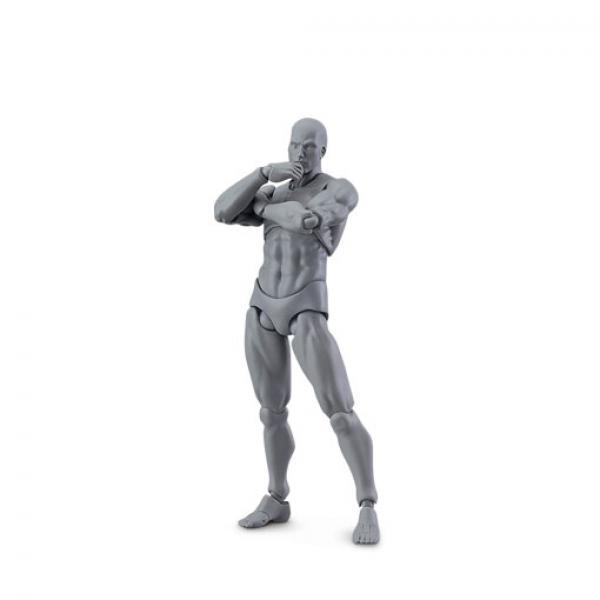 MF figma 03男 灰色男性素体人原型-MaxFactory archetype nexthe gray color ver. 正版可动人偶
