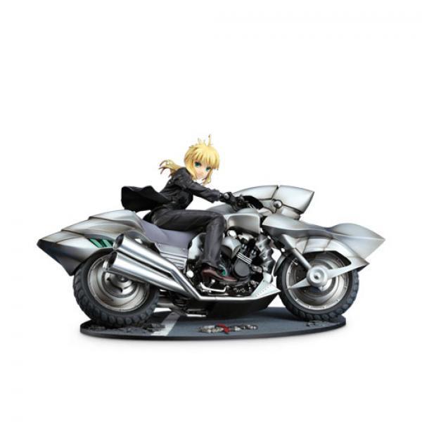 GSC Saber&摩托车 手办-《Fate ZERO》 良笑社 Saber&Saber Motored Cuirassier 正版手办 再版【APP下单】