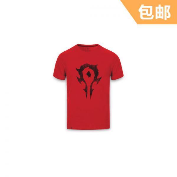 部落款T恤-《魔兽世界》 2016夏季新款男装 全款预售 6月初发货 正版T恤 预售