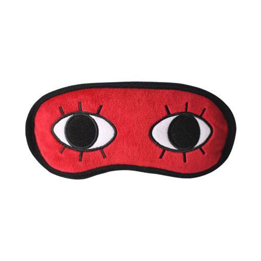 冲田眼罩 眼罩-《银魂》 冲田总悟 红底双眼眼罩 正版眼罩 现货