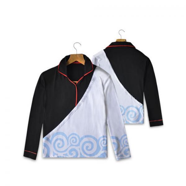 银时长袖T恤-《银魂》 坂田银时 正版T恤 现货