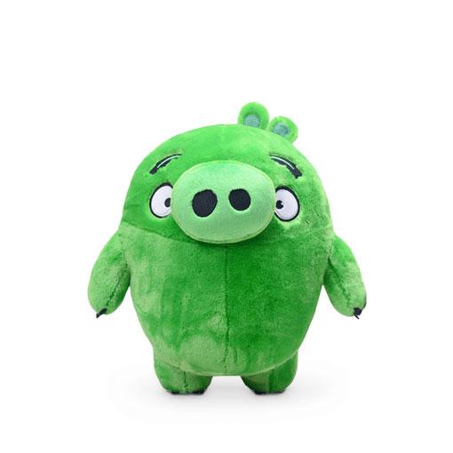 aoger 小猪 毛绒玩具-《愤怒的小鸟》 绿猪 正版毛绒