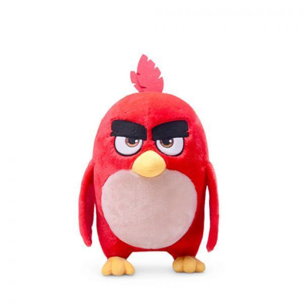 正版授权 愤怒小鸟 毛绒玩具-《愤怒的小鸟》 正版精品毛绒