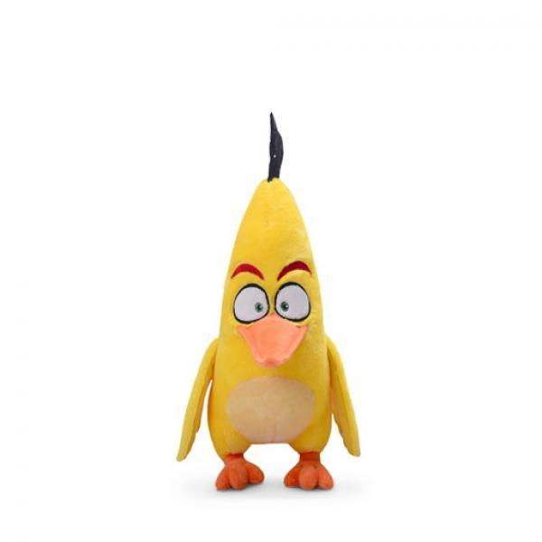Aoger 恰克 毛绒玩具-《愤怒的小鸟》 飞镖黄 正版毛绒