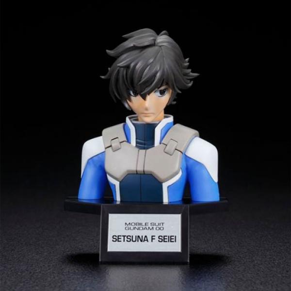 万代 刹那·F·清英 拼装胸像-《机动战士高达》FIGURE-RISE Bust Setsuna 正版拼装模型