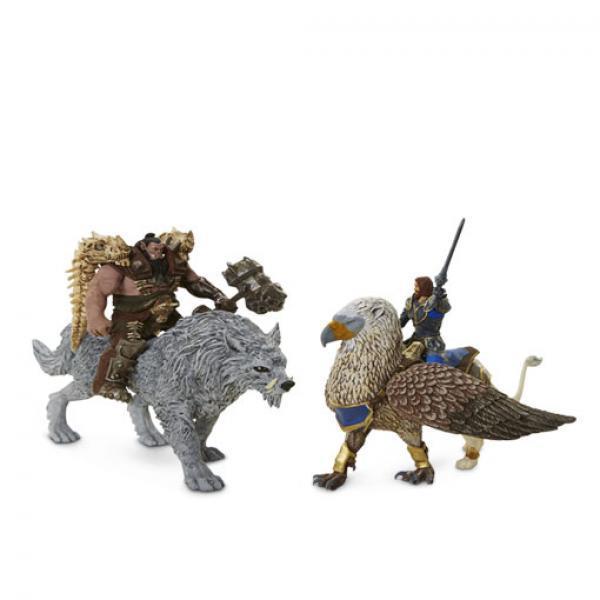 洛萨&黑手 公仔组合-《魔兽世界》 战斗组合 正版公仔