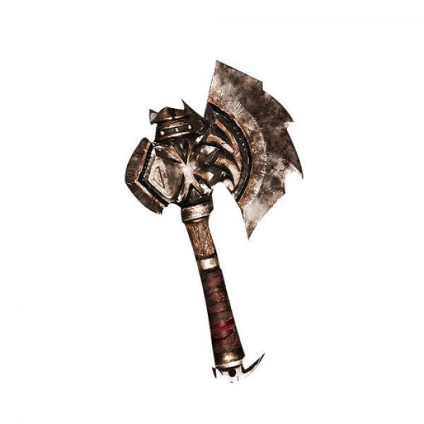 杜隆坦之斧升级版 模型玩具-《魔兽世界》 正版模玩 现货